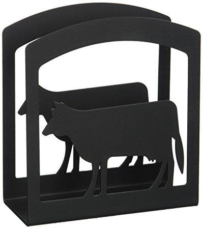 6 Inch Cow Napkin Holder